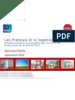 Les Français et le Logement - Baromètre Ipsos / Nexity