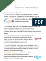 Servicios de Internet. Paula Baudino