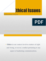 Chapter 3 Ethical Issues