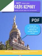 Cads Report Sept 2012