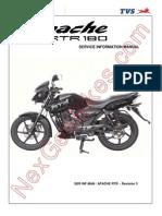 TVS Apache RTR 180 Service Manual Internal Training Manual