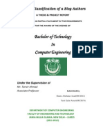 Thesis & Project Report