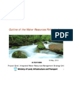 Outline of the Water Resources Policy in Japan