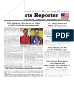 October 3 - 10, 2012  Sports Reporter
