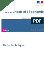 Les Français et l'économie TNS SOFRES mars 2007