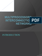 Multiprocessors Interconnection Networks