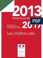 Projet Loi Finances 2013 - Chiffres Clés