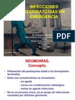 Infecciones Respiratorias en La Emergencia