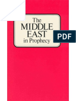 Middle East in Prophecy (Prelim 1972) - Herbert W Armstrong