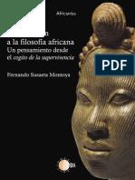 Fernando Montoya - Introduccíon a la filosofia africana