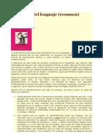 T1 Resumen de El Instinto Del Lenguaje