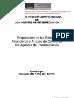 MANUAL DE INFORM FNANCIERA DE AGENTES DE INTERMEDIACIÓN