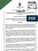 Decreto 763 Del 2009