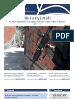 Jornal CRP-RJ Nao e Paz e Medo 2012