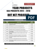 Dotnet Ieee 2012 2013 Titles