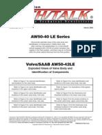 AW 50-42 Valve Body