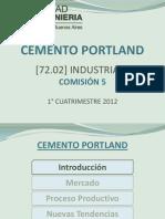 Cemento Portland - Presentación