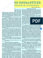 Catholic Diocese of Livingstone Newsletter Apr to Oct 2012