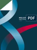 MSLGROUP Germany Public Affairs Survey 2012