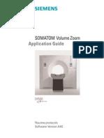 SOMATOM Volume Zoom Routine VA40