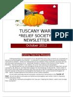 October 2012 RS Newsletter