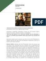 Octavio Getino Entrevistas 1