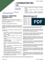 Guida al Computer - Lezione 70 - Il Sistema Operativo