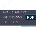 Weldability of Cr-mo Steels