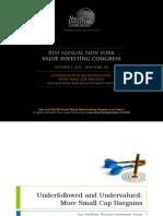 Gottfried ValueInvestingCongress 100212