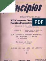 PRINCIPIOS N°8 - 9  FEBRERO - MARZO DE 1942 - PARTIDO COMUNISTA DE CHILE