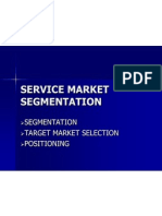 Ch-03 Service Mkt Segmentation