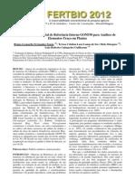 Produção do Material de Referência Interno GONF50 para Análises de Elementos-Traço em Plantas