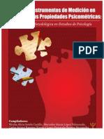 DISEÑO DE INSTRUMENTOS DE MEDICION EN PSICOLOGIA Y SUS PROPIEDADES PSICOMETRICAS