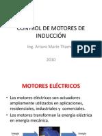 CONTROL DE MOTORES DE INDUCCIÓN