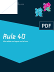 Rule 40 Guidelines Neutral