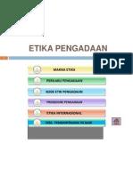 ETIKA PENGADAAN 1