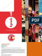Boletín Corredor Cultural del Centro No. 13 (3 al 10 de octubre de 2012)