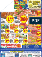 Friedman's Freshmarkets - Weekly Specials - October 11 - 17, 2012