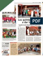 Visita al Castillo de Puente del Congosto - Agosto de 2012