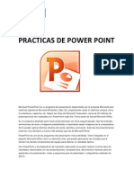 Practicas de Power Point