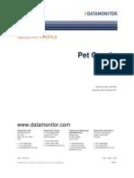 Datamonitor Pet India