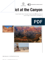 Conflict at the Canyon