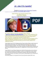 Angela Merkel – eine CIA-Agentin