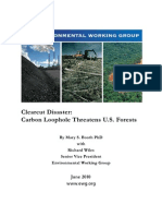 EWG Clearcut Disaster