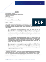 EWG FOIA FDA Delay Final Sunscreen Rule May 15 2012