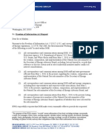 EWG FOIA Letter to Energy Department 6-8-11