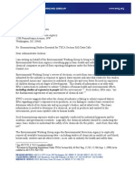EWG Letter to EPA Biomonitoring 6-2-2011