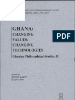 Ellen Lauer (Ed.) - Ghana Values in Change