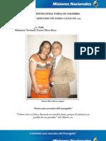 Informe Misionero a Julio 2012 - Neiva