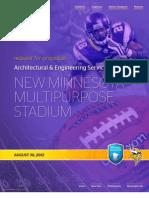 Ewing Cole Vikings stadium proposal